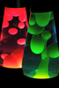 lava lamps - photo/picture definition - lava lamps word and phrase image