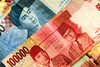 Indonesian rupiah - photo/picture definition - Indonesian rupiah word and phrase image