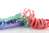party streamers - photo/picture definition - party streamers word and phrase image