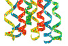 curly ribbons - photo/picture definition - curly ribbons word and phrase image