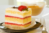 strawberry cake - photo/picture definition - strawberry cake word and phrase image