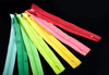 colored zippers - photo/picture definition - colored zippers word and phrase image