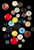 plastic buttons - photo/picture definition - plastic buttons word and phrase image
