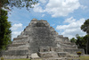 Mayan pyramid - photo/picture definition - Mayan pyramid word and phrase image