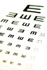 eyes chart - photo/picture definition - eyes chart word and phrase image
