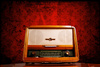 vintage radio - photo/picture definition - vintage radio word and phrase image