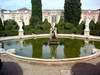 garden fountain - photo/picture definition - garden fountain word and phrase image