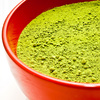 green tea powder - photo/picture definition - green tea powder word and phrase image