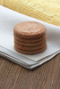 ginger biscuits - photo/picture definition - ginger biscuits word and phrase image