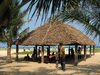 hut on beach - photo/picture definition - hut on beach word and phrase image