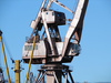 dock crane - photo/picture definition - dock crane word and phrase image