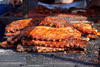 BBQ ribs - photo/picture definition - BBQ ribs word and phrase image