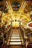 carousel stairs - photo/picture definition - carousel stairs word and phrase image