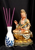 Asian god statue - photo/picture definition - Asian god statue word and phrase image