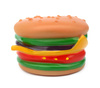 rubber burger - photo/picture definition - rubber burger word and phrase image