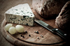 rustic bread and cheese - photo/picture definition - rustic bread and cheese word and phrase image