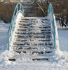 winter bridge - photo/picture definition - winter bridge word and phrase image
