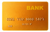 gold credit card - photo/picture definition - gold credit card word and phrase image