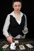 croupier - photo/picture definition - croupier word and phrase image
