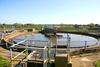 seweage treatment plant - photo/picture definition - seweage treatment plant word and phrase image