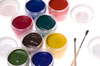 watercolor gouache paints - photo/picture definition - watercolor gouache paints word and phrase image