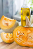fresh pumpkin - photo/picture definition - fresh pumpkin word and phrase image