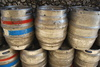 beer barrels - photo/picture definition - beer barrels word and phrase image