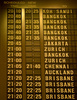 departure schedule board - photo/picture definition - departure schedule board word and phrase image