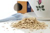oat flakes - photo/picture definition - oat flakes word and phrase image