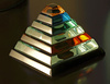 glass pyramid - photo/picture definition - glass pyramid word and phrase image