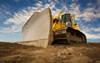 bulldozer - photo/picture definition - bulldozer word and phrase image