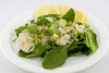 cod fish salad - photo/picture definition - cod fish salad word and phrase image