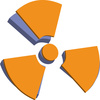 radiation icon - photo/picture definition - radiation icon word and phrase image