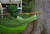 backyard hammock - photo/picture definition - backyard hammock word and phrase image
