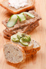 avocado toasts - photo/picture definition - avocado toasts word and phrase image