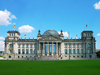 Reichstag building - photo/picture definition - Reichstag building word and phrase image