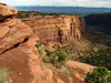 Colorado red cliffs - photo/picture definition - Colorado red cliffs word and phrase image