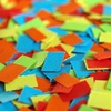 confetti - photo/picture definition - confetti word and phrase image