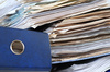paperwork - photo/picture definition - paperwork word and phrase image