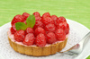 raspberry tartlet - photo/picture definition - raspberry tartlet word and phrase image