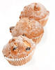muffins with raisins - photo/picture definition - muffins with raisins word and phrase image