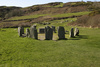 Dromberg stone circle - photo/picture definition - Dromberg stone circle word and phrase image