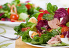 salad nicoise - photo/picture definition - salad nicoise word and phrase image