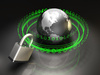Internet security - photo/picture definition - Internet security word and phrase image