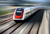 fast train - photo/picture definition - fast train word and phrase image