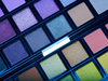 multicolored eye shadows - photo/picture definition - multicolored eye shadows word and phrase image