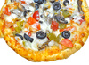 pizza toppings - photo/picture definition - pizza toppings word and phrase image