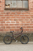 BMX bike - photo/picture definition - BMX bike word and phrase image