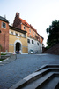 castle in Cracow - photo/picture definition - castle in Cracow word and phrase image