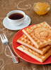 belgian waffles - photo/picture definition - belgian waffles word and phrase image